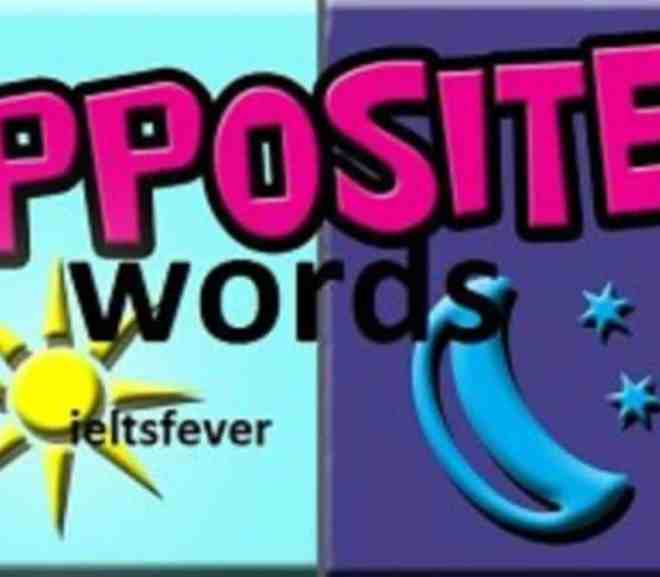 useful opposite words most usable ielts exam