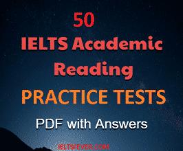 Ielts Reading Passage Pdf