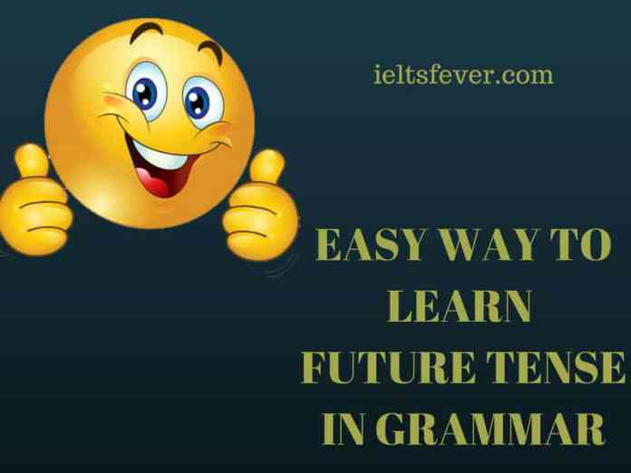 EASY WAY TO LEARN FUTURE TENSE IN GRAMMAR