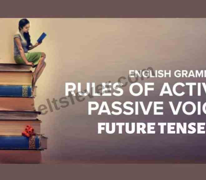 easy way to learn active passive future tense in English grammar