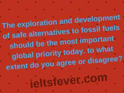 The exploration and development of safe alternatives to fossil fuels