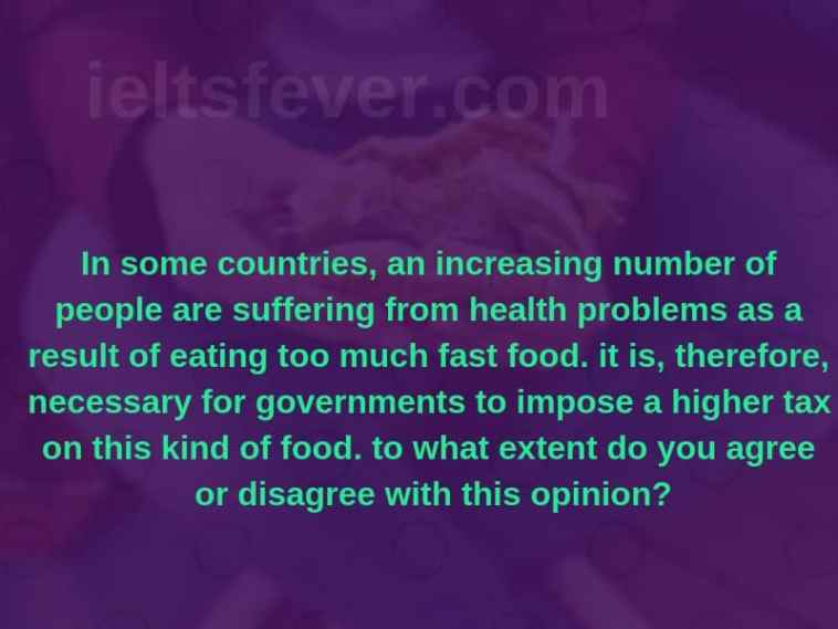 In some countries, an increasing number of people are suffering