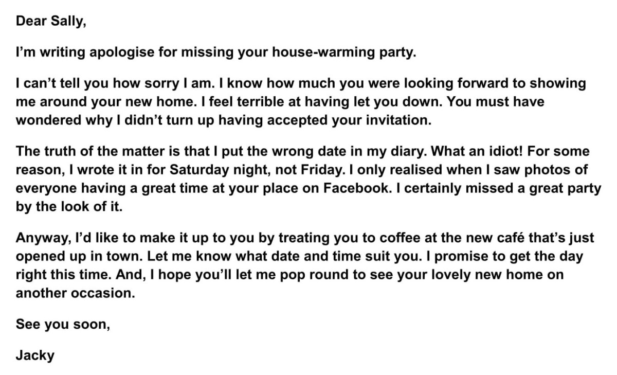 Amazing Apology Letters To Friends - Wish love Quotes