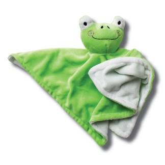 knuffeldoek groen kikker