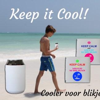 Cooler voor blikje in Zanzibar