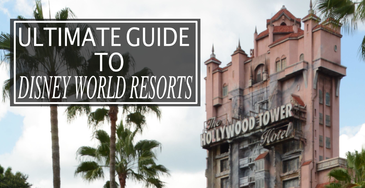 Holly wood studios. Tower of terror. Disney Guide