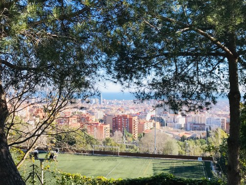 4 Days In Barcelona - Top Things To Do- View point barcelona