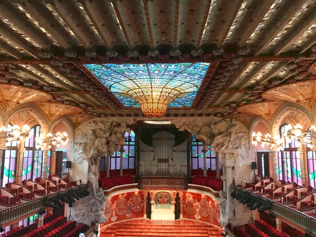 4 Days In Barcelona - Top Things To Do. palau de la musica Catalana