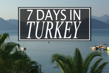 7 DAYS IN TURKEY