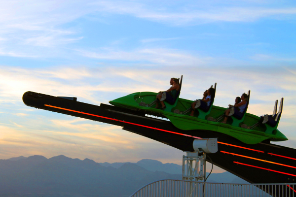 Top things to do in vegas- the strat rides-