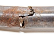Corrosion or mechanical failure