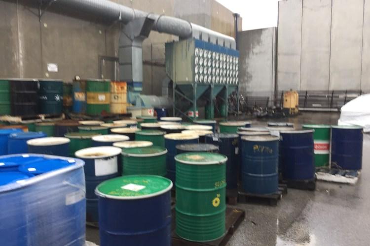 manufacturing environmental site investigation