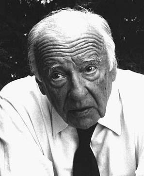 Photograph of H. G. Gadamer