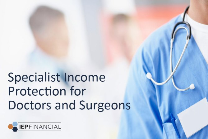 Specialist Income Protection for Doctors & Surgeons - IEP Financial Hove