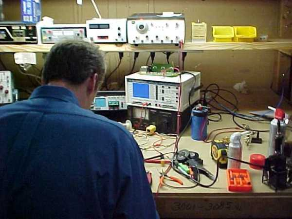 Repair Lab ~ Workbench no# 2 :: Industrial Electronic Repair
