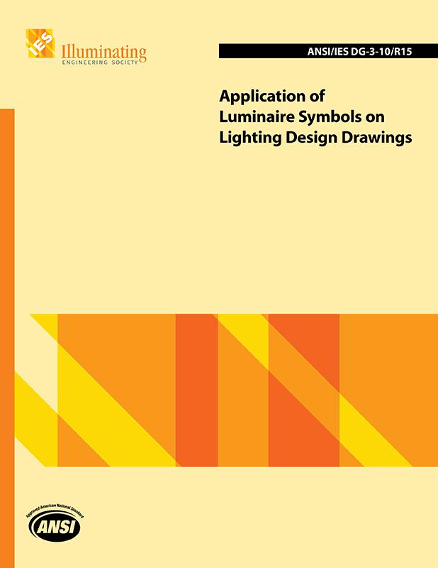 application of luminaire symbols