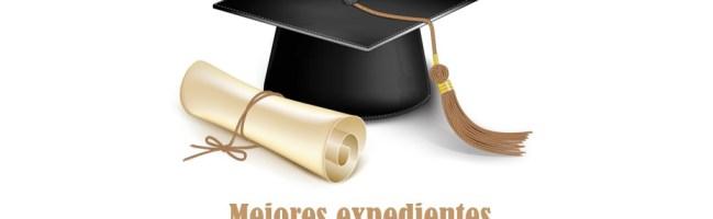 Reconocimiento para el alumnado con mejor expediente académico en el curso 2019-2020