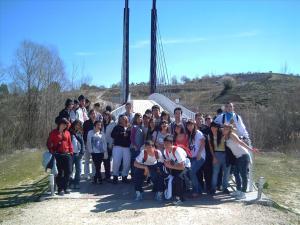 Los alumnos de latín en Carranque