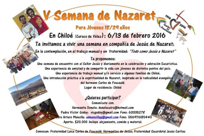 V semana de Nazaret 2016