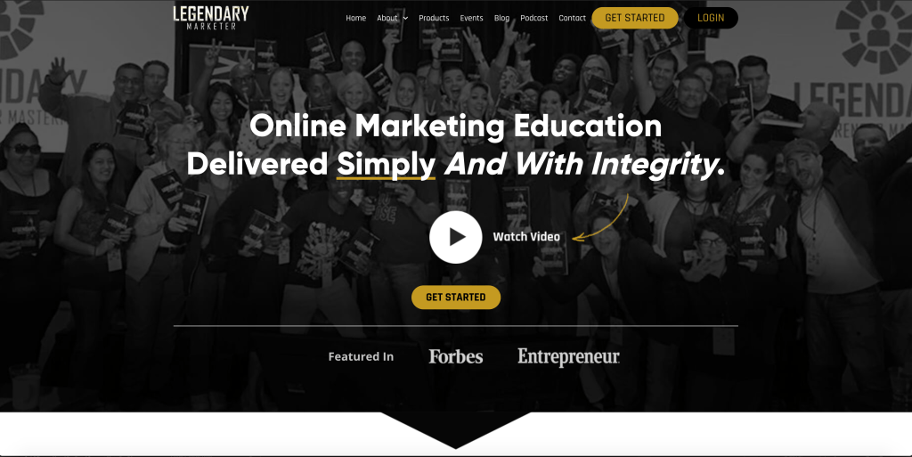Legendary Marketer Training Products