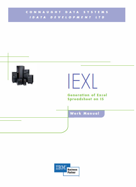 ieXL Software AS400 and iSeries Excel Spreadsheet Generation