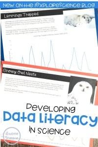 Developing Data Literacy in Science Classrooms