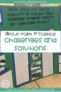 Supporting Group Work In Science Classes