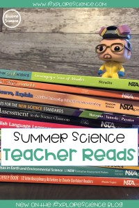 Summer Science Teacher Reads: What You Need To Read Before School Starts