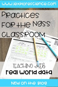 3 Ways To Incorporate Data In Your NGSS Classroom