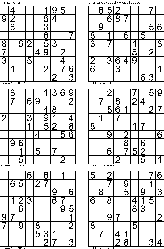 Puzzles for Feb 1-2 2020 Number search/Sudoku/Word search