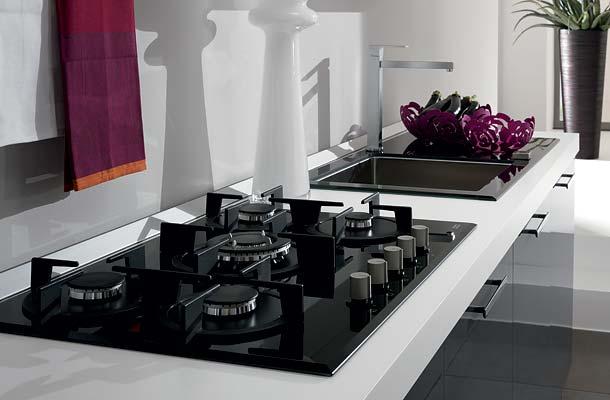 IEZZI  Catalogo cucine moderno  Orchidea Grigia metallizzata