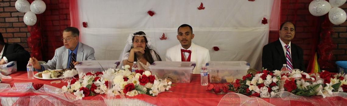 Congratulations to Ketson and Joyleen