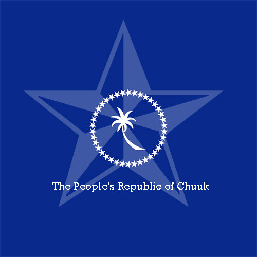Flag of the Republic of the People's of Chuuk