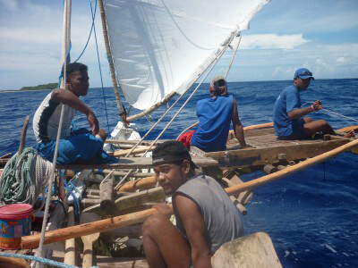 Explorers of Micronesia... live in harmony with the environment, charting the course hoping for a calmer sea and abundance of resources lie ahead.