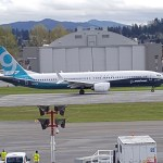Witnessing the First Flight ever for Boeing's 737 MAX 9