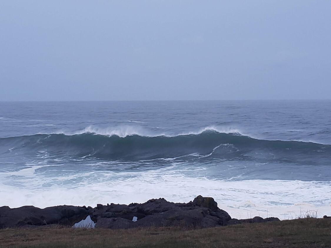 Crashing Pacific Waves…