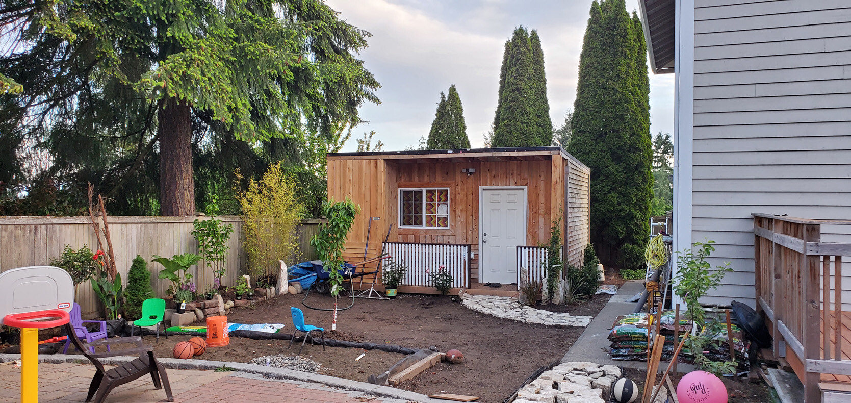 Garden in Progress – Dreaming of a better view