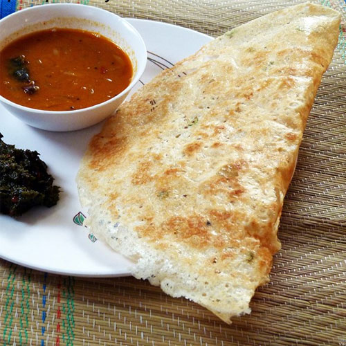 Have fun with Rava Dosa