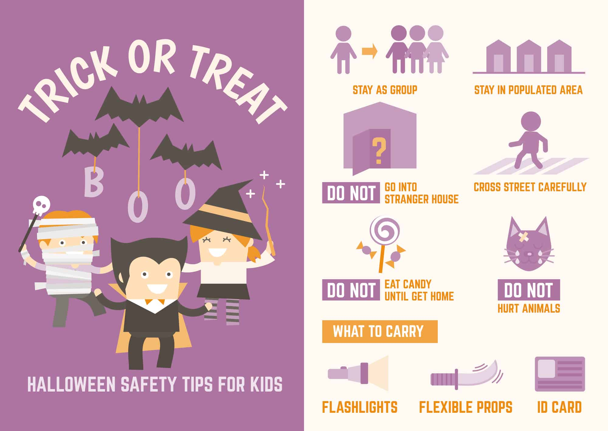29 Halloween Safety Tips for Kids - Trick or Treating