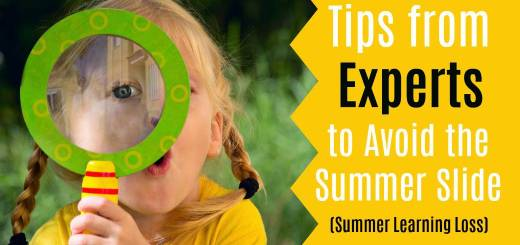 Tips to avoid the summer learning slide and summer learning loss