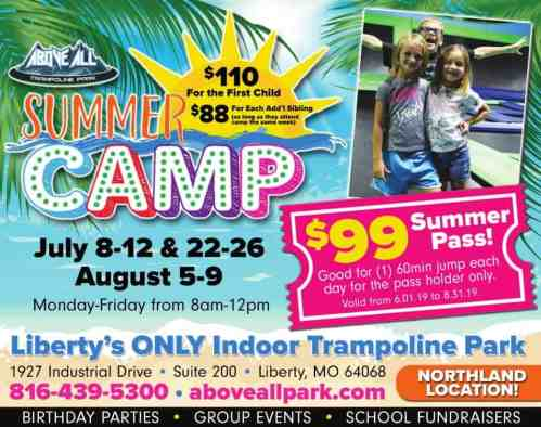 summer camps for kids in kansas city