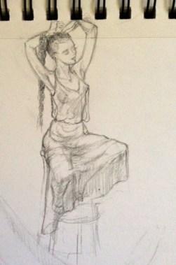 Tiny Dancer in Transparent Dress