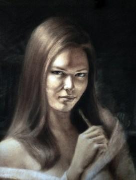 Close-up, portrait of Sarah