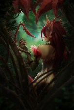 Zyra League of Legends Game art