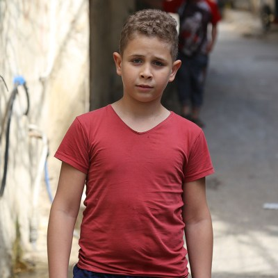 iF Charity - Palestinian Boy - Child