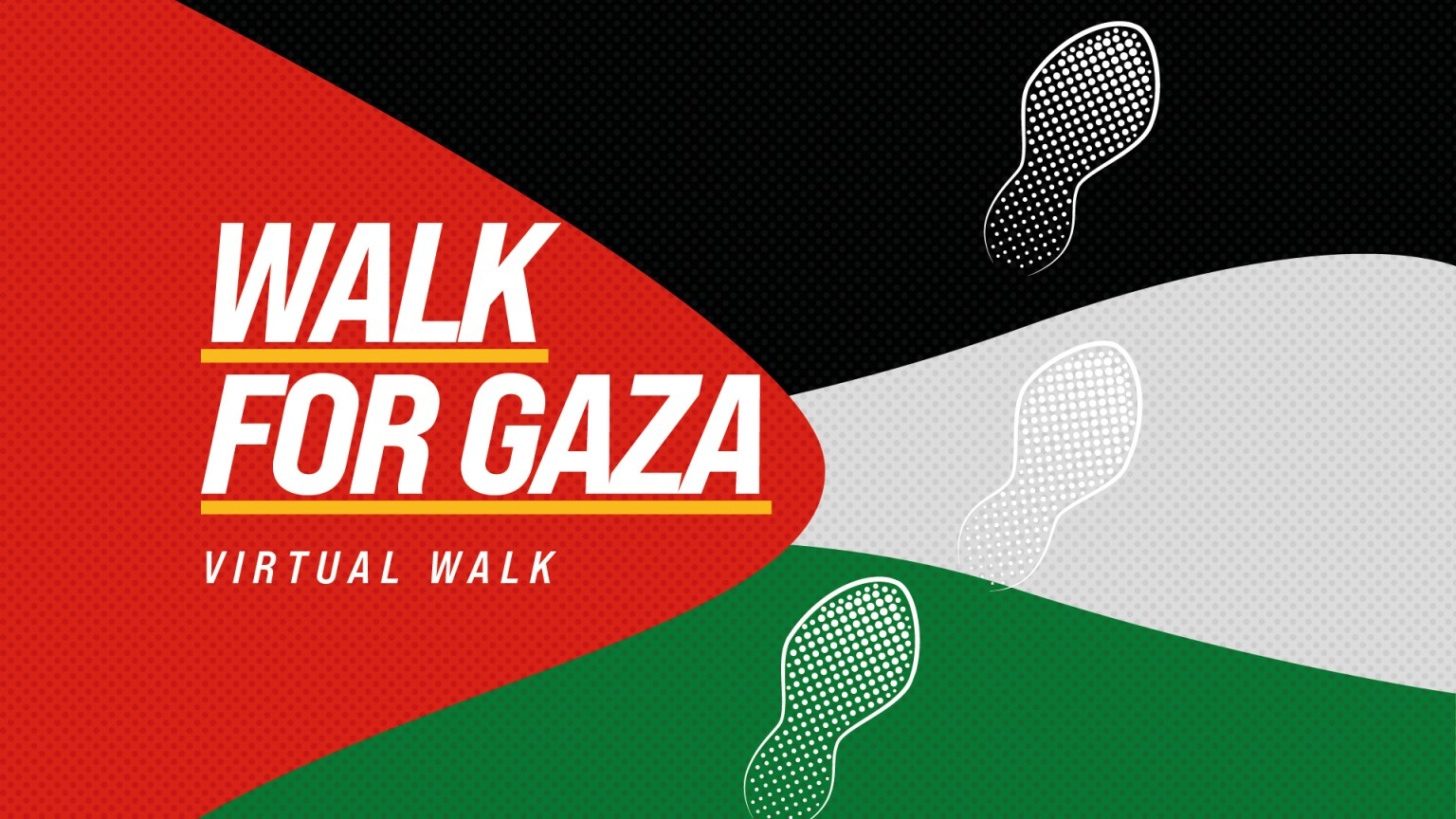 iF Charity Walk For Gaza 2021 Generic Banner