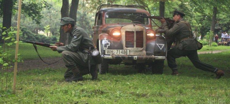 Бій-реконструкція між бійцями УПА та НКВС