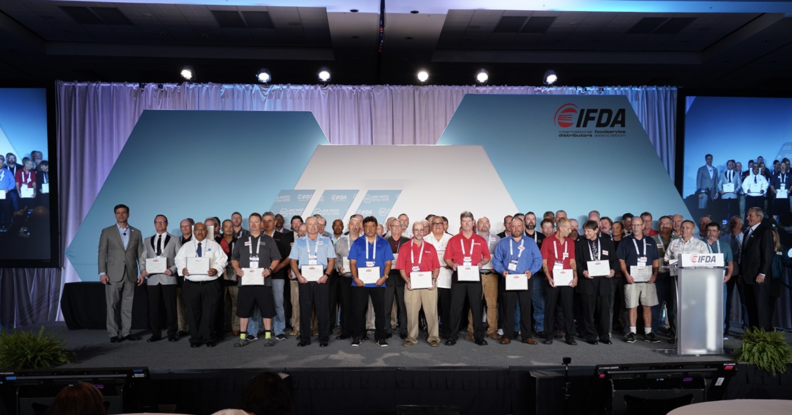 IFDA - IFDA Celebrates the 2019 Truck Driver Hall of Fame Inductees