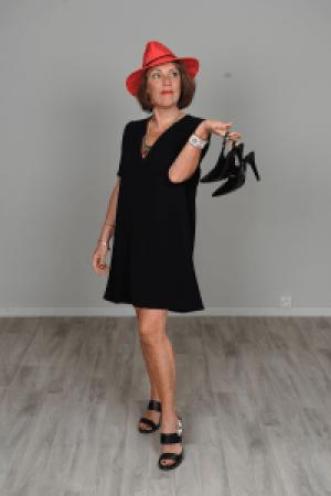 Corinne Ducasse en mode sénior