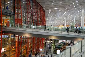 Inside the Daxing airport Beijing China